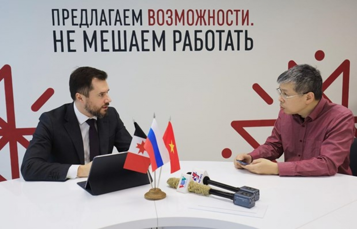 In an interview with First Deputy Prime Minister of the Udmurt RepublicKonstantin Suntsov