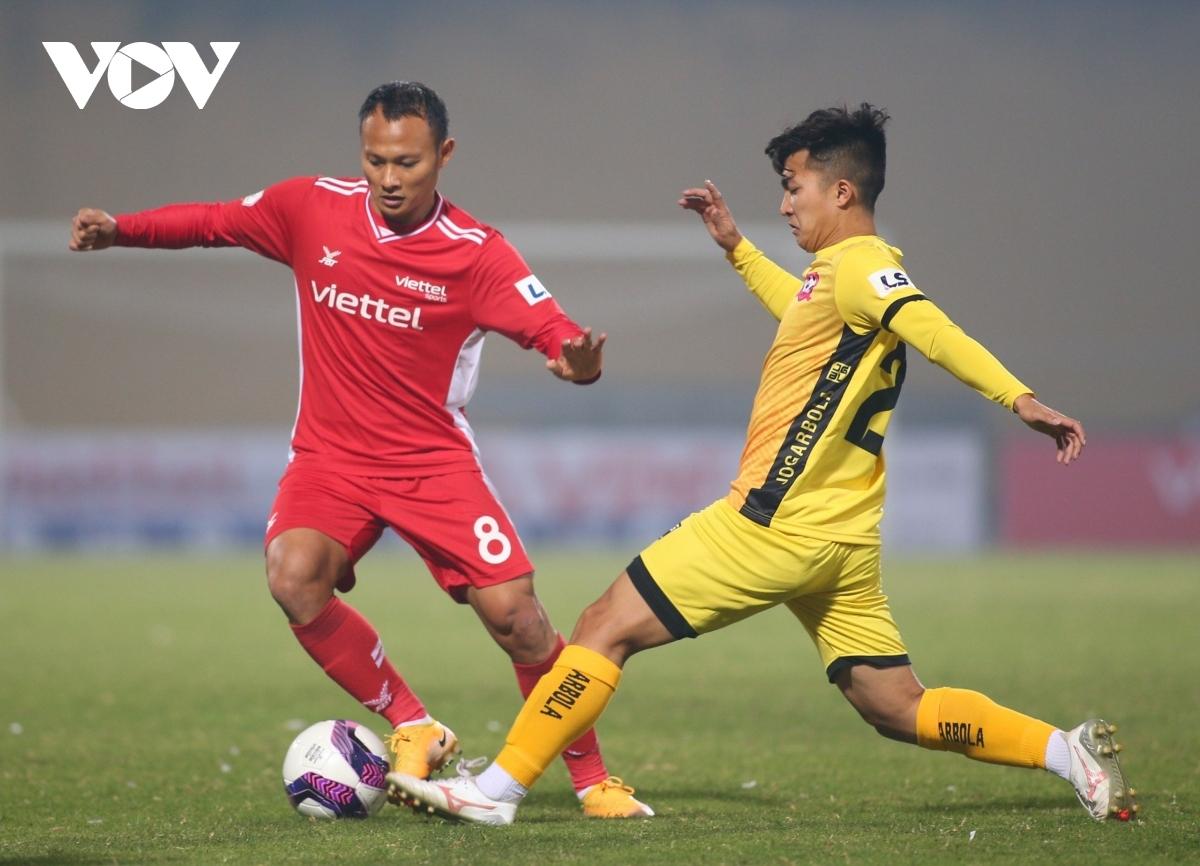 V-League 2021 trở lại sau thời gian tạm hoãn(Ảnh: Minh Hoàng)