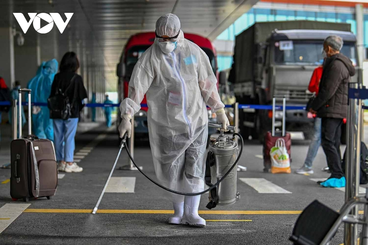Due to the previous outbreak at the airport, a range of COVID-19 prevention measures are strictly implemented.