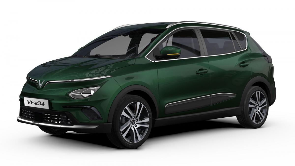 ô tô điện VFe34 của VinFast đã lập kỷ lục thị trường về lượng đơn đặt hàng với gần 4.000 xe được đặt cọc sau 12 tiếng.