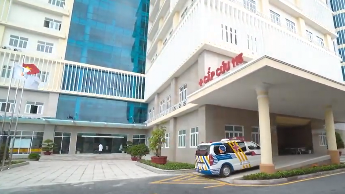 Bệnh viện Xuyên Á, tỉnh Vĩnh Long.