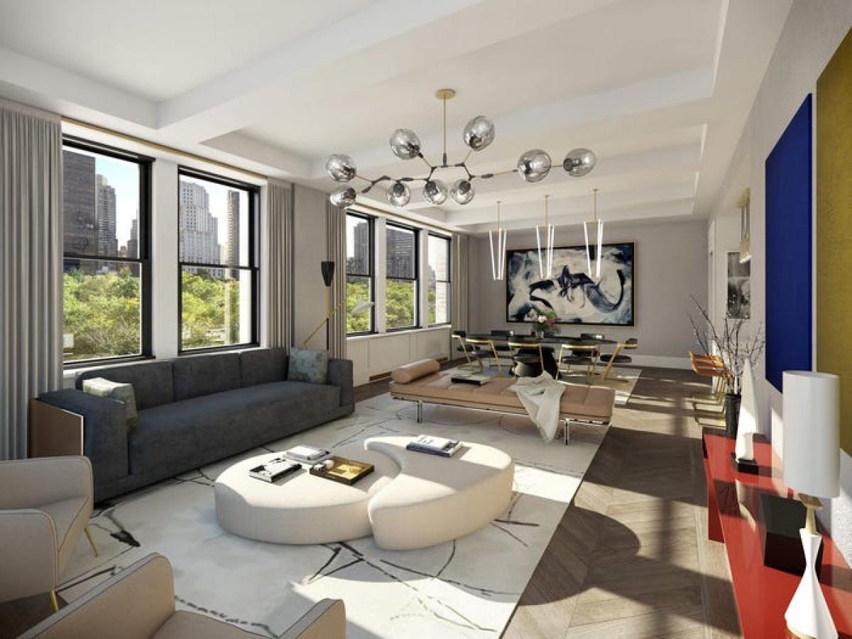 Bên trong căn penthouse rộng lớn có tới 12 phòng ngủ tiện nghi.