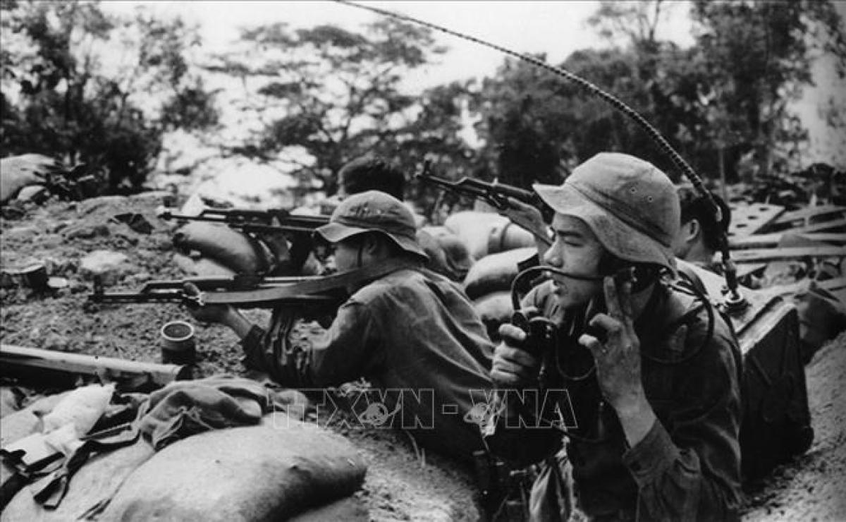 Chiến dịch phản công Đường 9 - Nam Lào bắt đầu từ ngày 30/1 và kết thúc vào ngày 23/3/1971. Ảnh: TTXVN