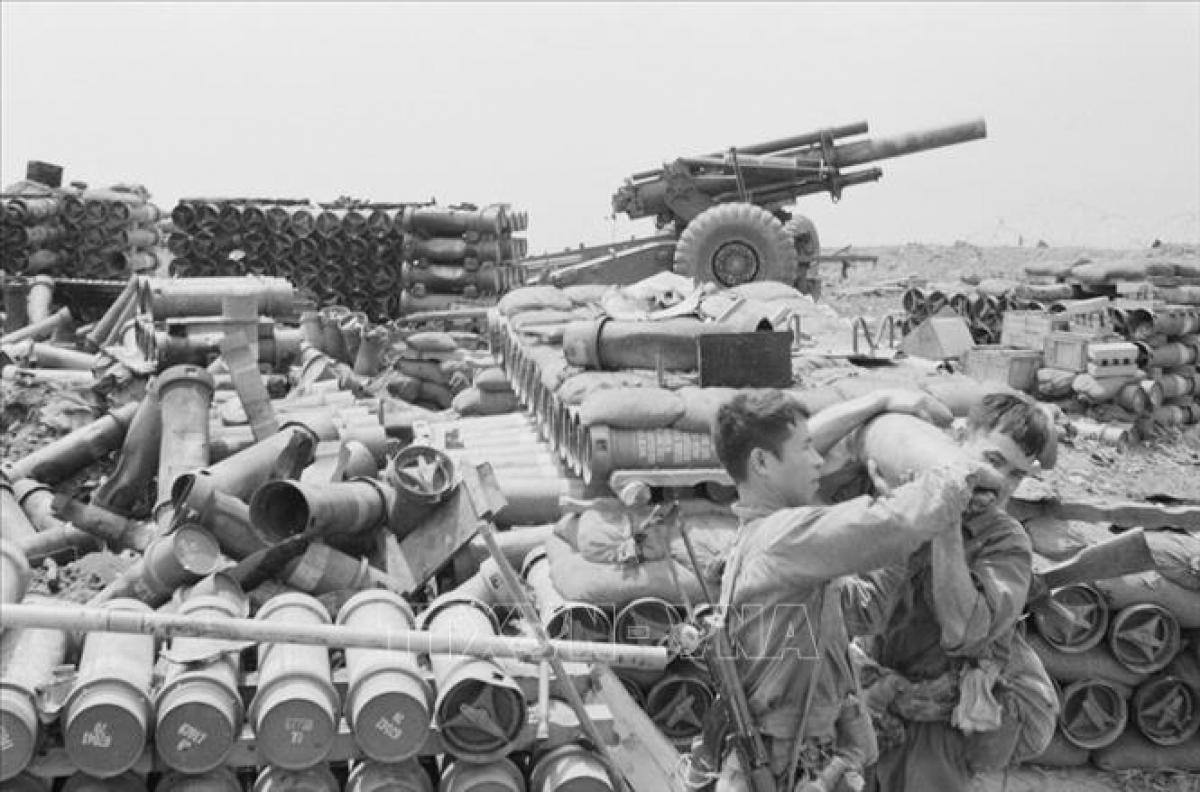Chiến dịch phản công Đường 9 - Nam Lào diễn ra từ ngày 30/1 và kết thúc thắng lợi vào ngày 23/3/1971. Ta loại khỏi vòng chiến đấu hơn 21.000 quân chủ lực địch. Ảnh: TTXVN.