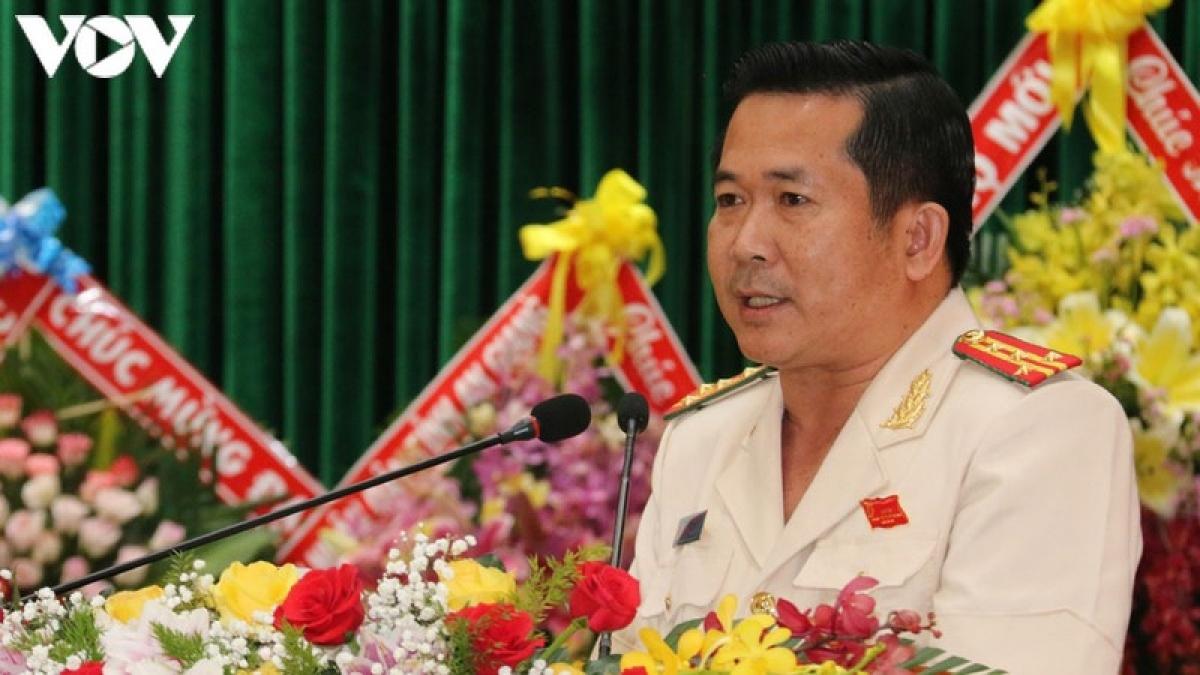 Đại tá Đinh Văn Nơi - Giám đốc Công an tỉnh An Giang