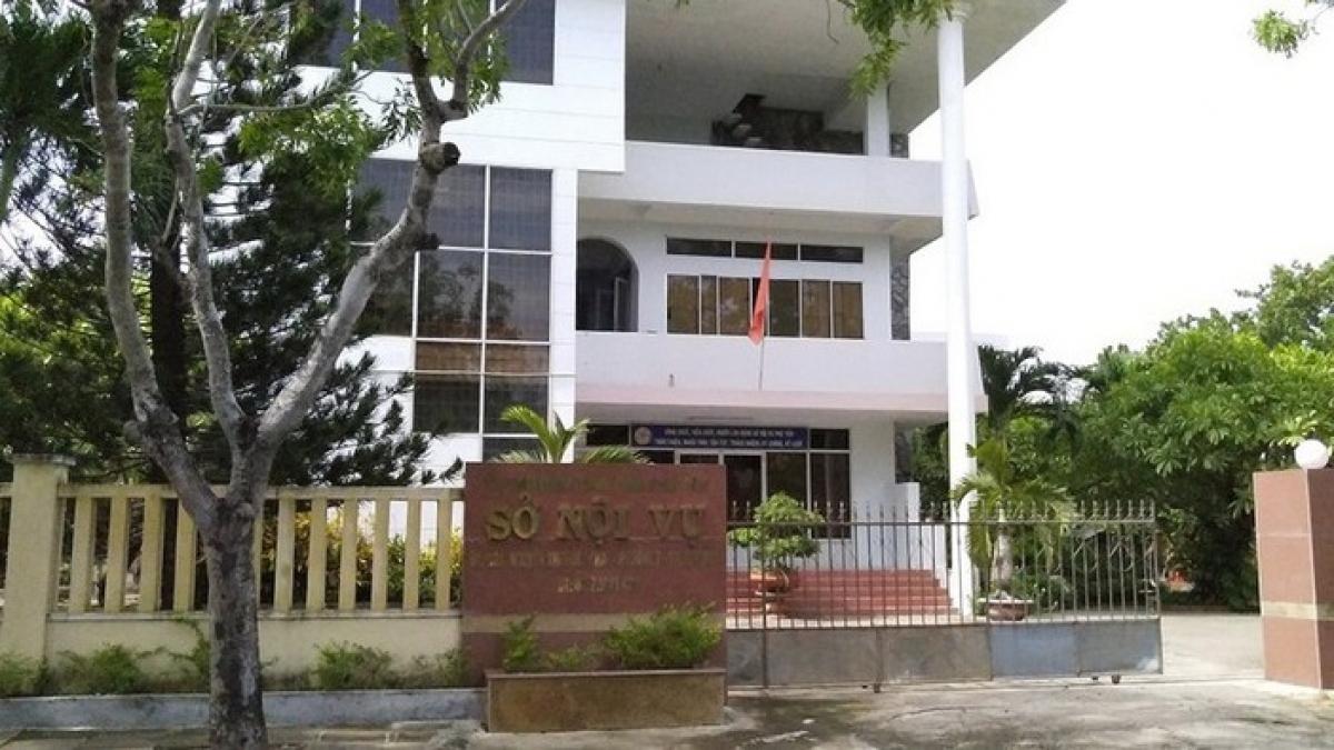 Sở Nội vụ tỉnh Phú Yên.