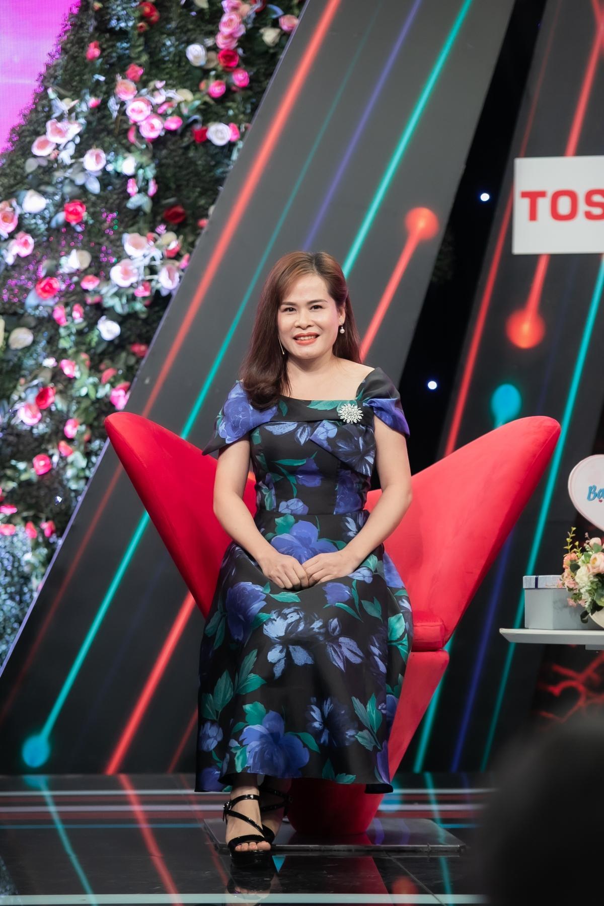 Chị Vũ Lựu tại chương trình.