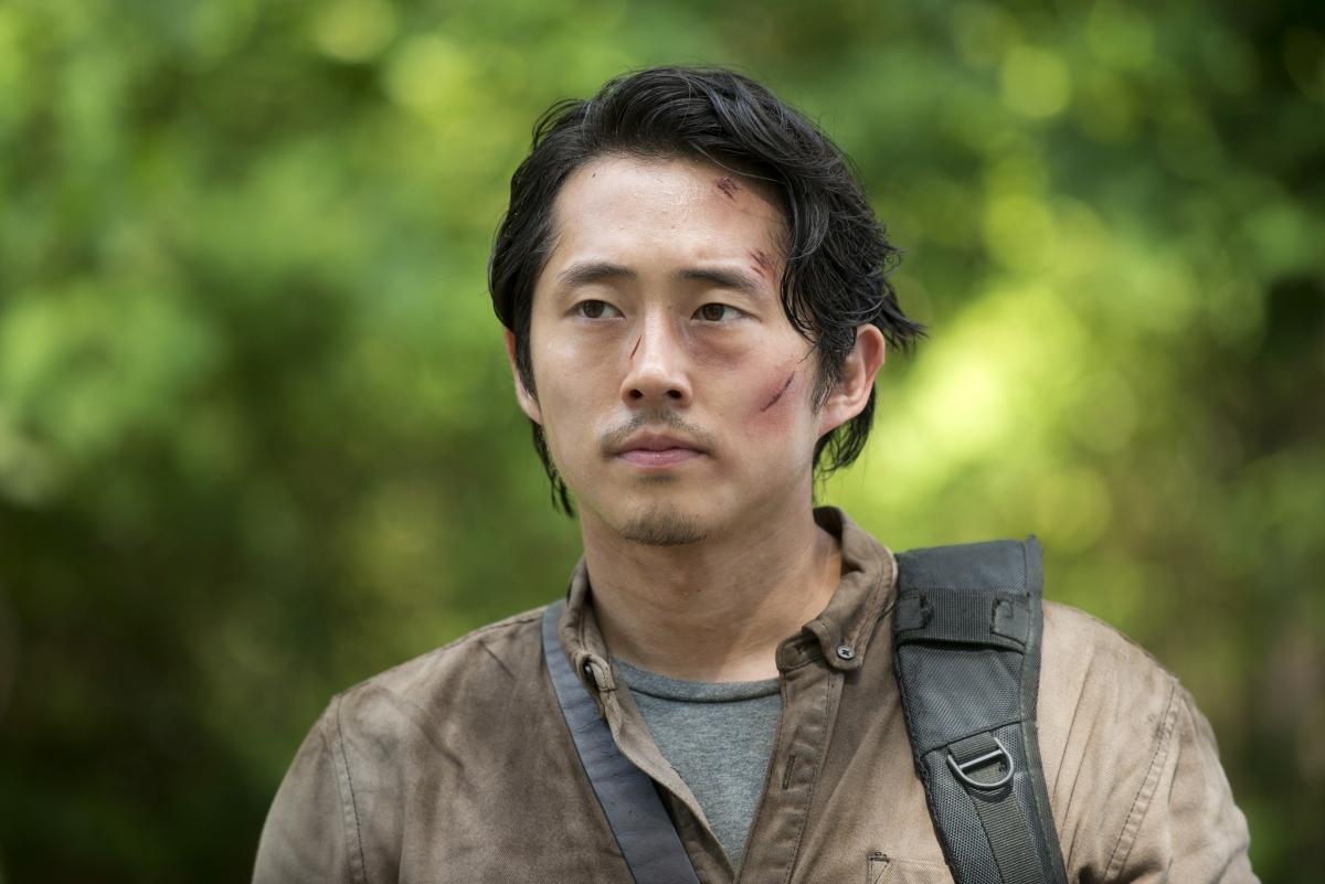 """Series phim truyền hình về xác sống """"The Walking Dead"""" là bộ phim đầu tiên Steven Yeun tham gia và có vai chính trong đó."""