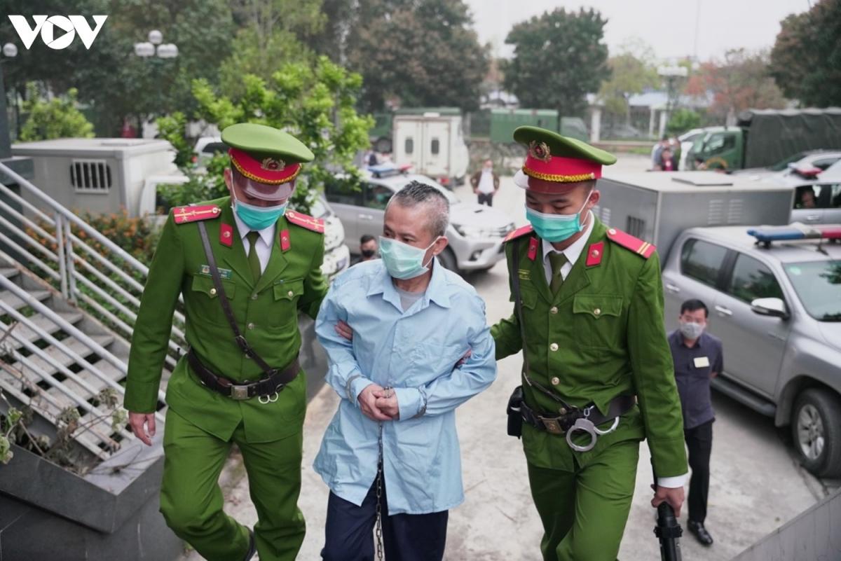 Một trong hai bị cáo còn lại bị tuyên Tử hình ở phiên sơ thẩm là Lê Đình Công (ảnh).