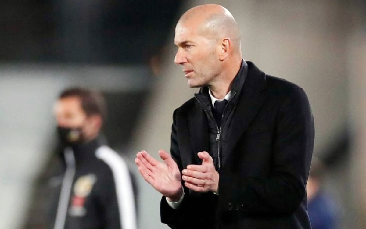 HLV Zidane cho rằng Real Madrid vẫn chơi tốt dù hòa Sociedad (Ảnh: RMFC).