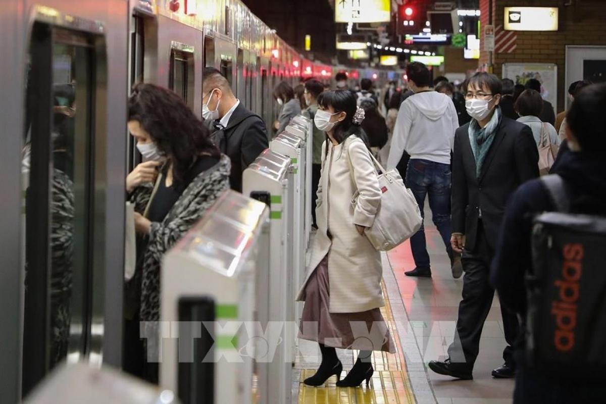 Nhật Bản tái Tuyên bố tình trạng khẩn cấp lần 3 vì Covid-19 (Ảnh: TTXVN)