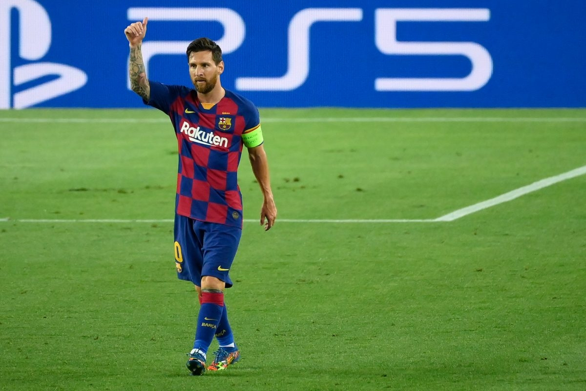 10. Lionel Messi (Barca) 5 bàn thắng, 2 kiến tạo.