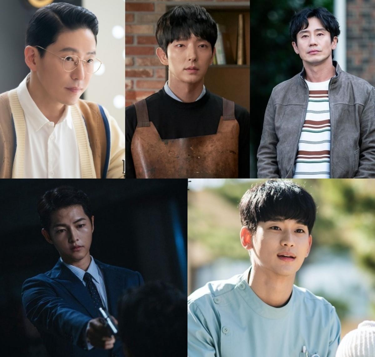 """Đường đua """"Nam diễn viên chính xuất sắc nhất"""" mảng truyền hình có sự góp mặt của Kim Soo Hyun,Song Joong Ki,Lee Jun Ki,Uhm Ki Joonvà Shin Ha Kyun"""