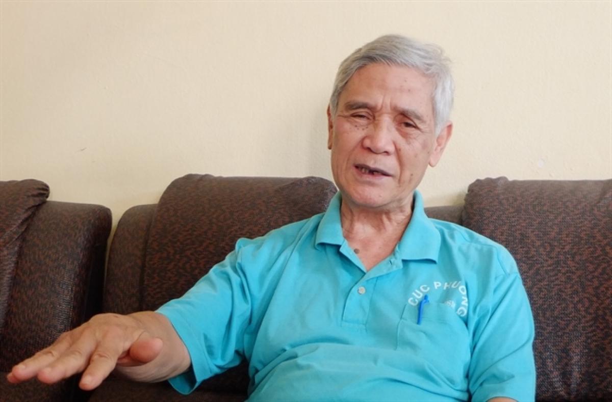 GS.TS Nguyễn Ngọc Lung - Viện trưởng Viện Quản lý rừng bền vững và Chứng chỉ rừng. (Ảnh: Báo Phụ nữ TP HCM).