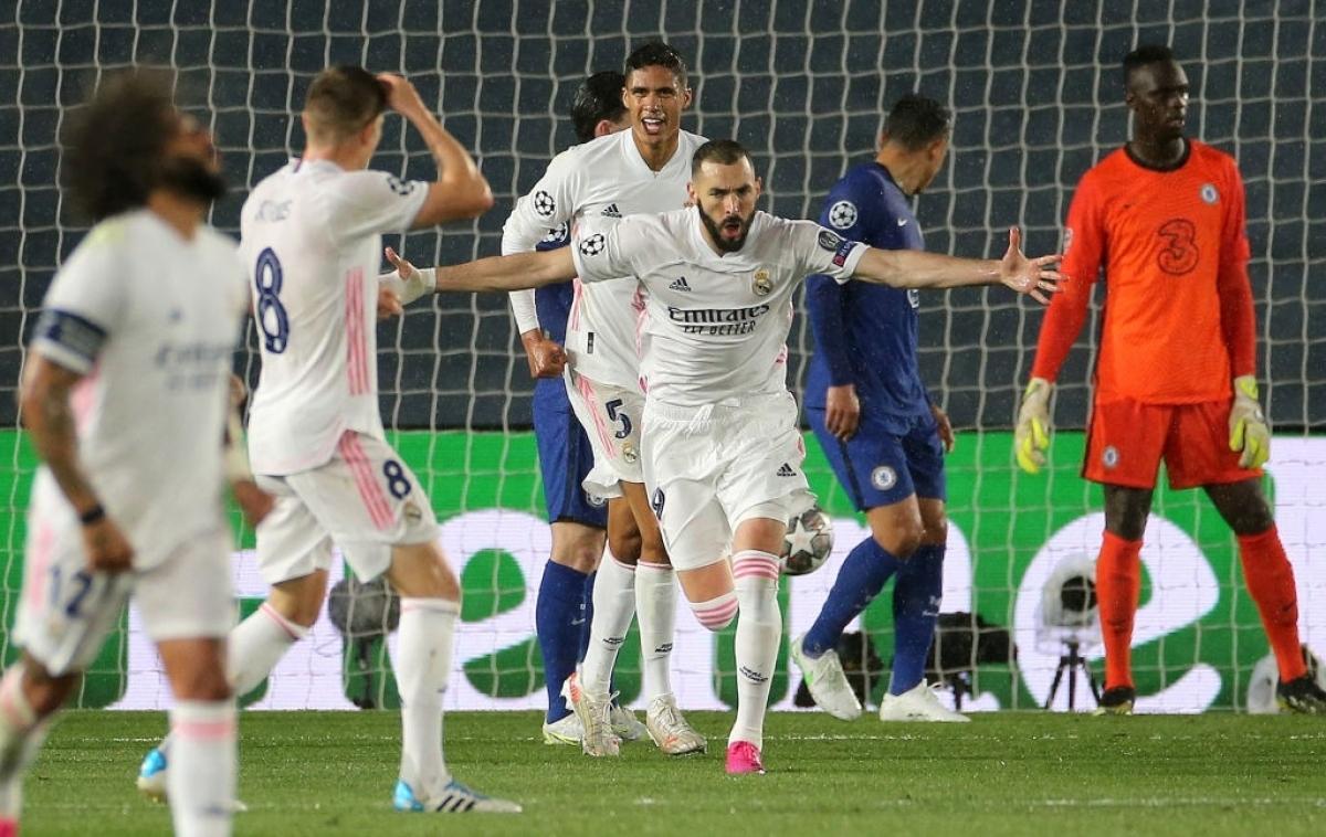 Đây là bàn thắng thứ 71 của chân sút người Pháp ở sân chơi danh giá nhất lục địa già. Trước khi ghi bàn gỡ hòa, Benzema cũng có một tình huống dứt điểm bóng đi trúng xà ngang của đội khách.
