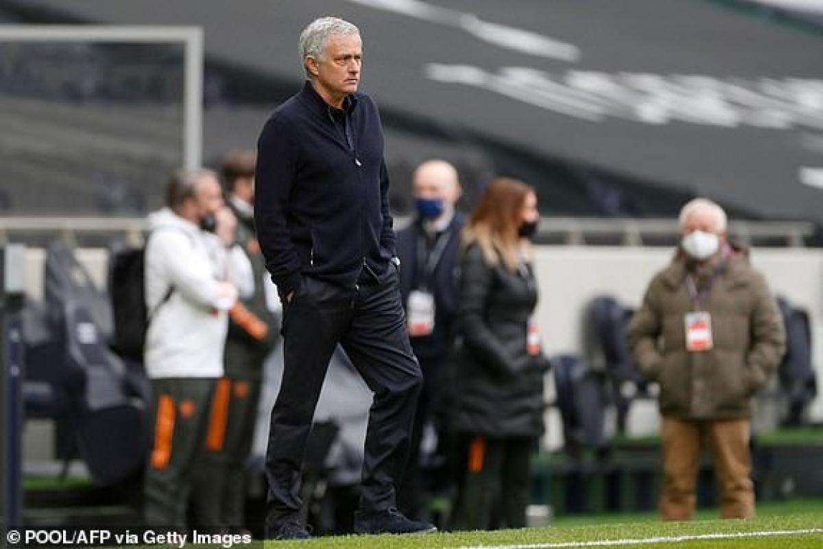 Mourinho có lý do để lo lắng trước thềm đại chiến Tottenham - MU dù có lợi thế sân nhà. (Ảnh: Getty).