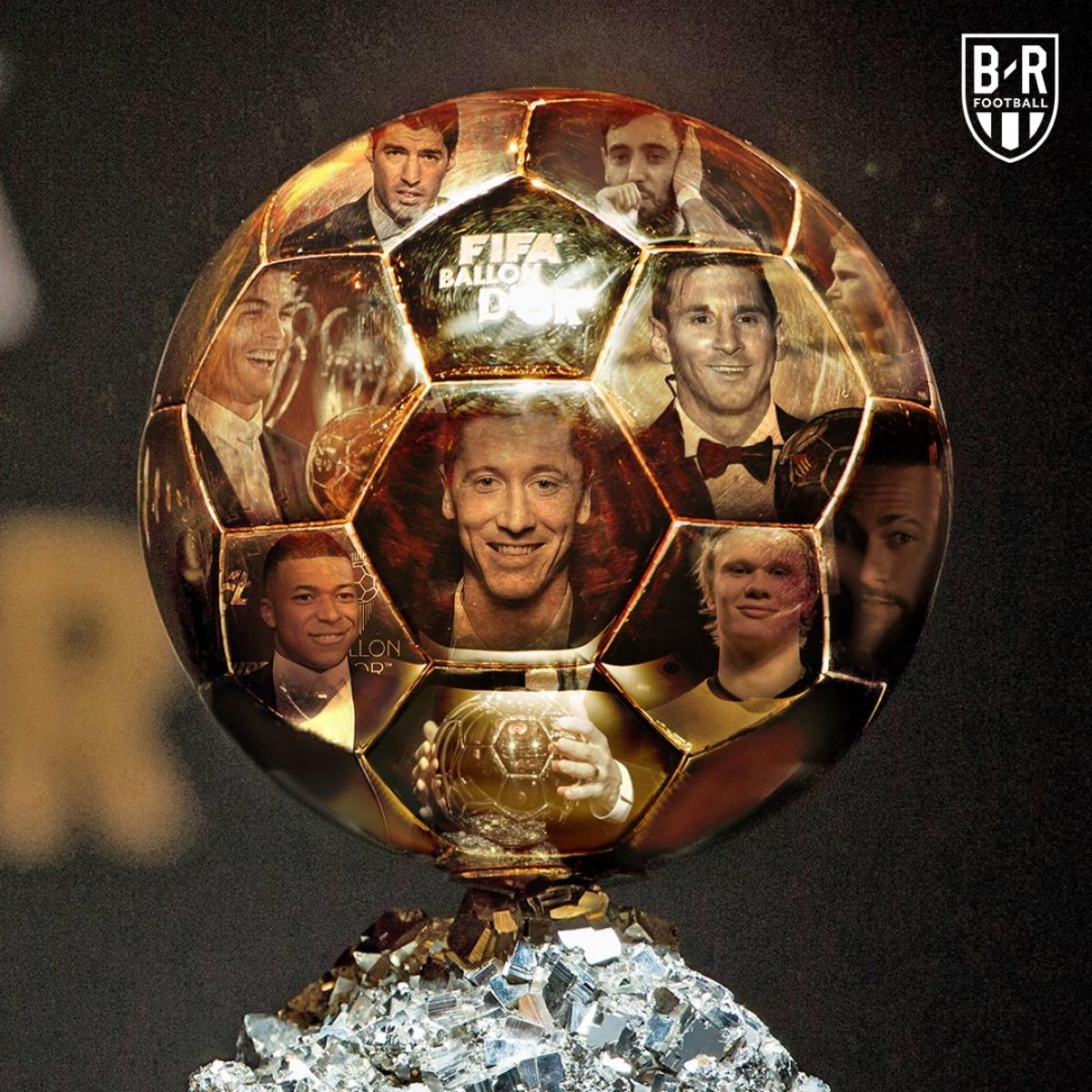 Dự đoán ứng viên cho danh hiệu Quả bóng vàng 2021. (Ảnh: Bleacher Reports)