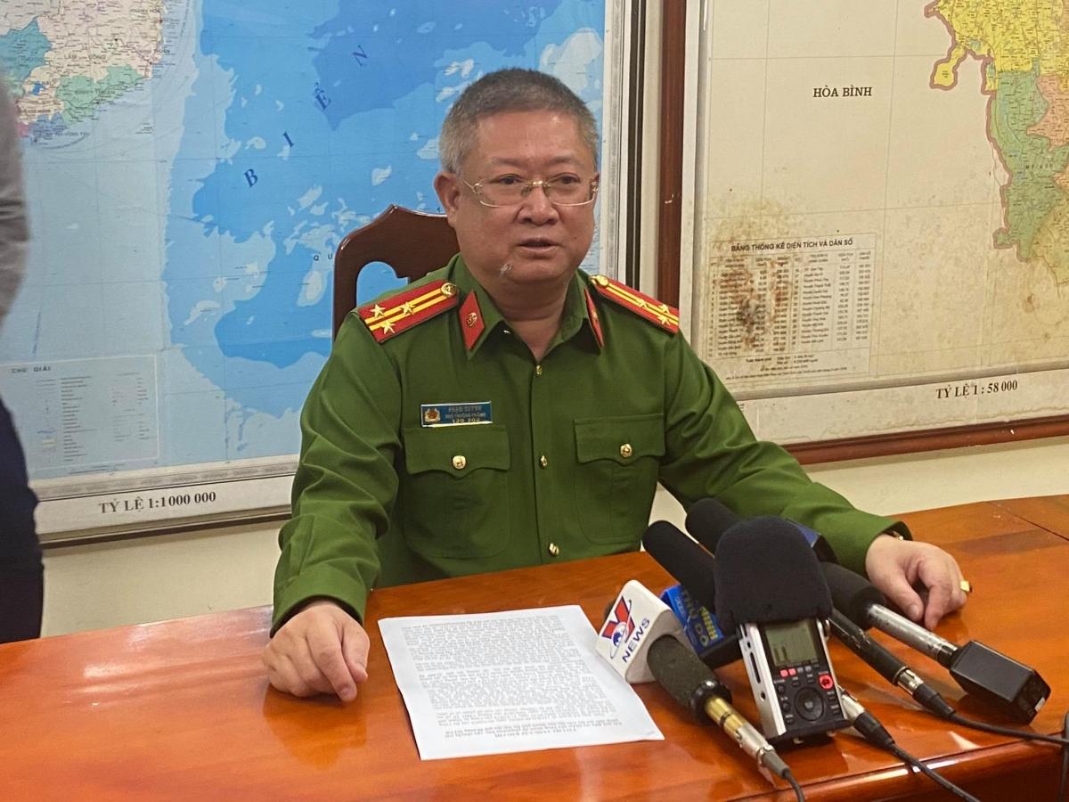 Thượng tá Phạm Quỳnh, Phó trưởng phòng PC04 - Công an TP Hà Nội