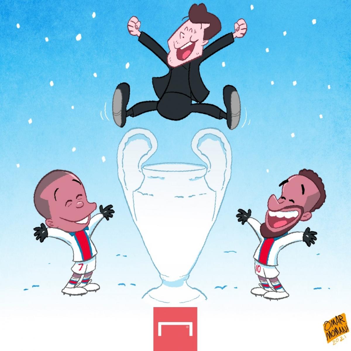 PSG ôm mộng vô địch Champions League. (Ảnh: Omar Momani)