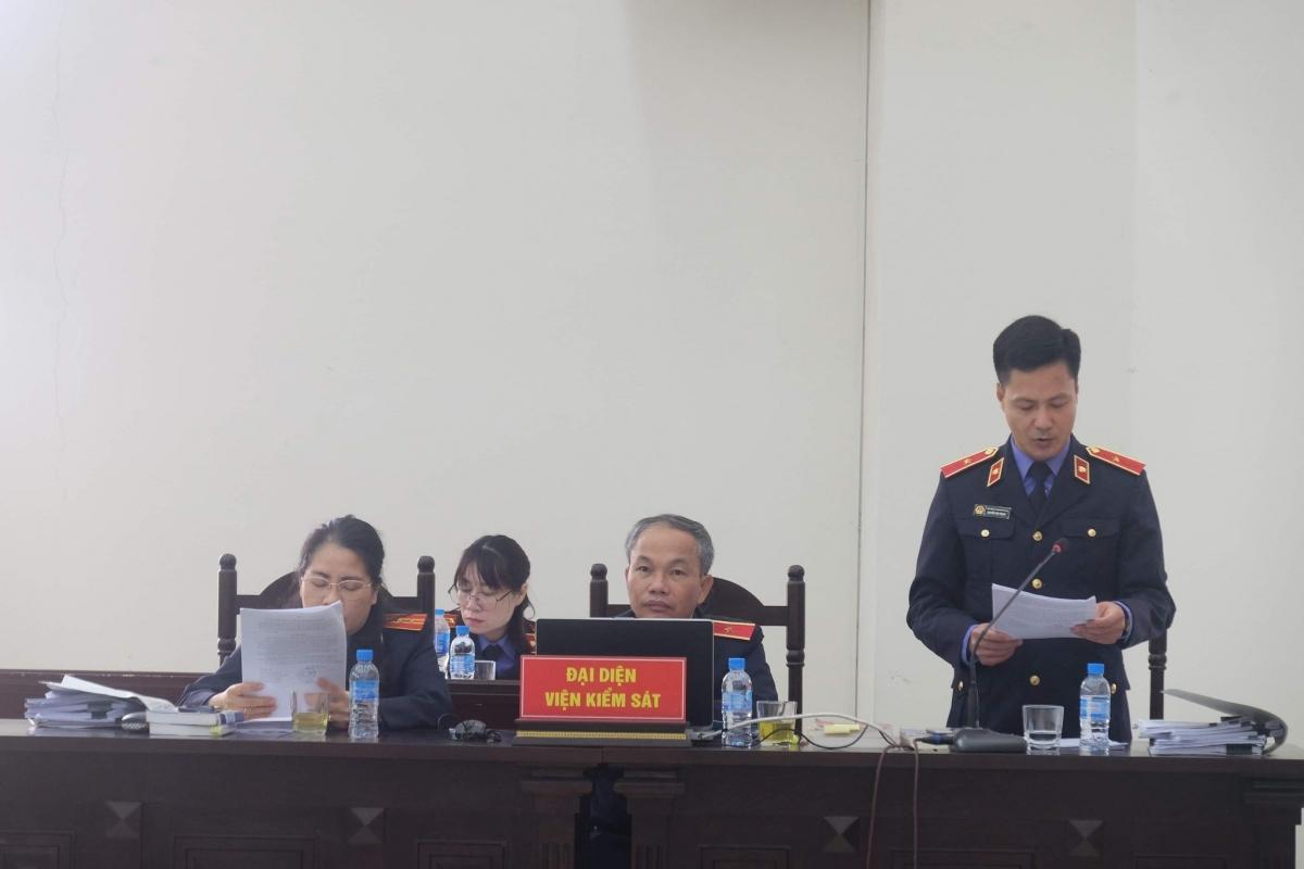 Đại diện VKS tại phiên tòa