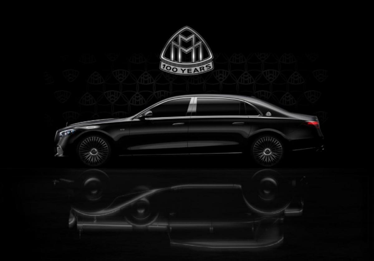 Hình ảnh hé lộMaybach S-Class hoàn toàn mới