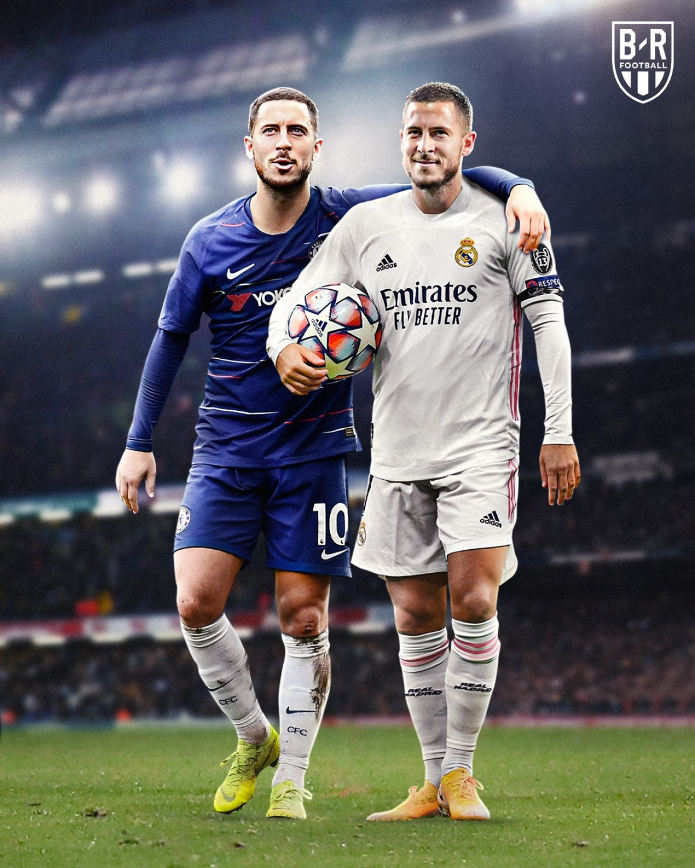 Eden Hazard sẽ trở lại Stamford Bridge đối đầu với Chelsea. (Ảnh: Bleacher Reports)