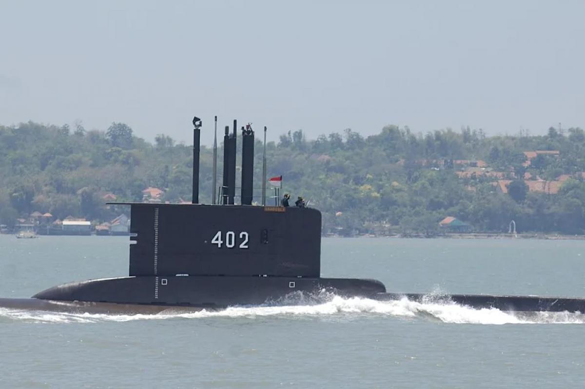Tàu ngầm KRI Nanggala-402 của Hải quân Indonesia. Ảnh: Getty