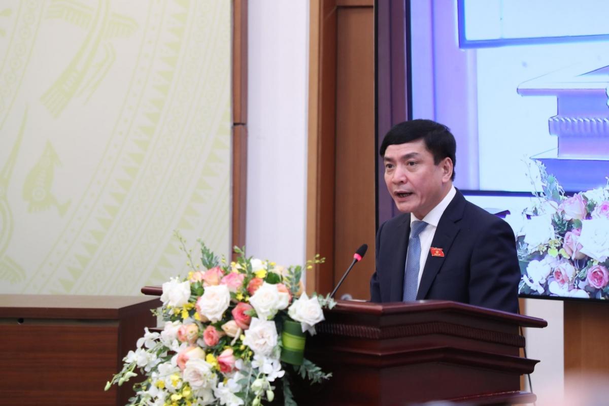 Tổng thư ký Quốc hội - Bùi Văn Cường.