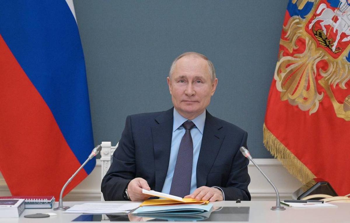 Tổng thống Nga V.Putin. (Nguồn: Tass)