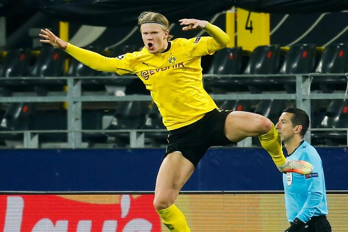 1. Erling Haaland (Dortmund) 10 bàn thắng, 2 kiến tạo.