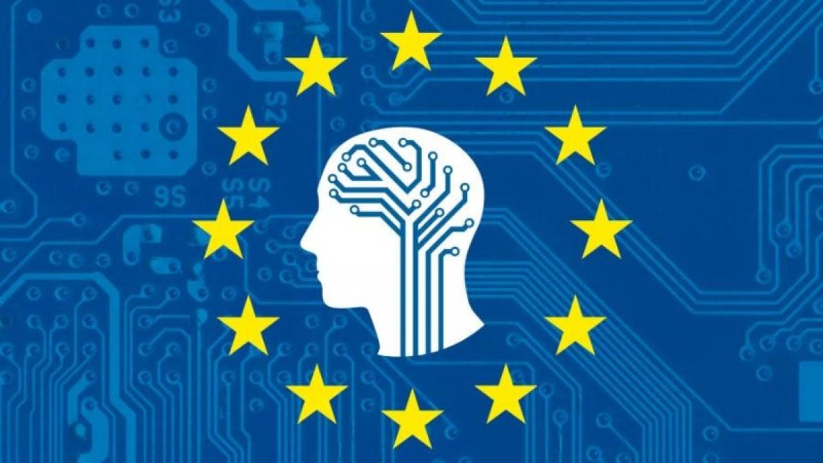EU sẽ kiểm soát các hệ thống AI gắt gao hơn. (Ảnh chụp màn hình: FT)