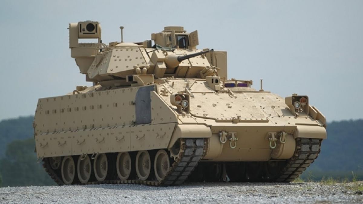 M2 Bradley đã lỗi thời và không phù hợp với yêu cầu tác chiến hiện đại của Lục quân Mỹ. Ảnh: Military.com