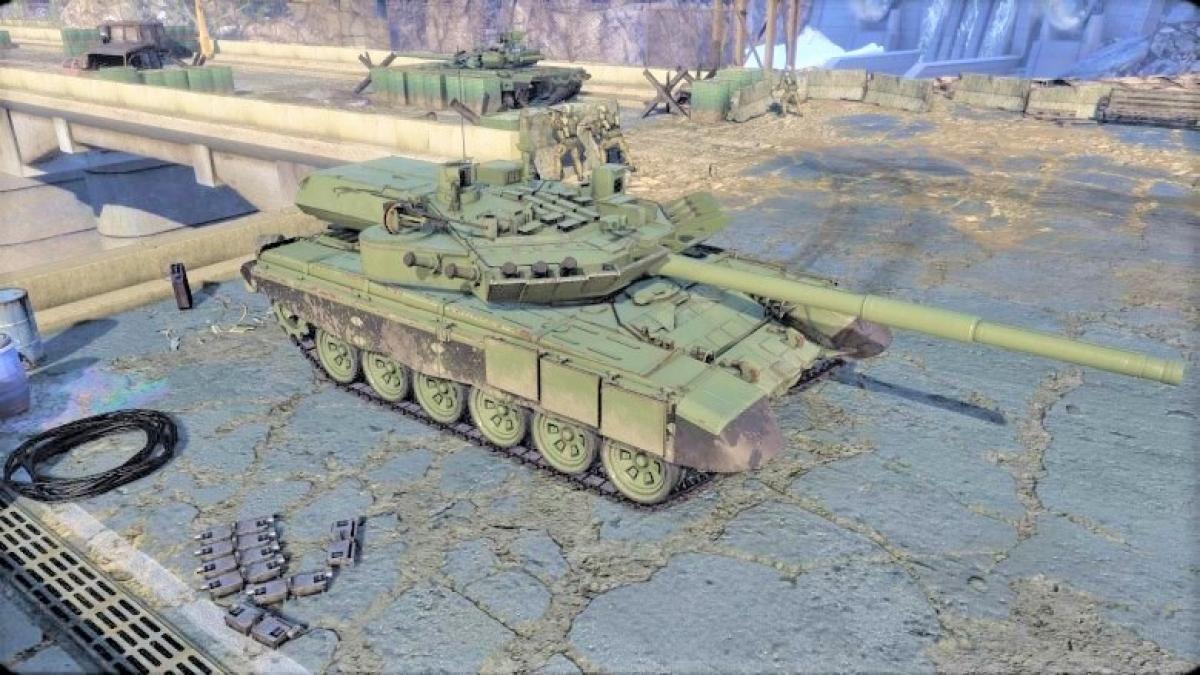 Tháp pháo Burlak được phát triển vào những năm 2010 để tận dụng khung gầm các dòng xe T-72, T-80 và T-90; Nguồn: aw.my.games