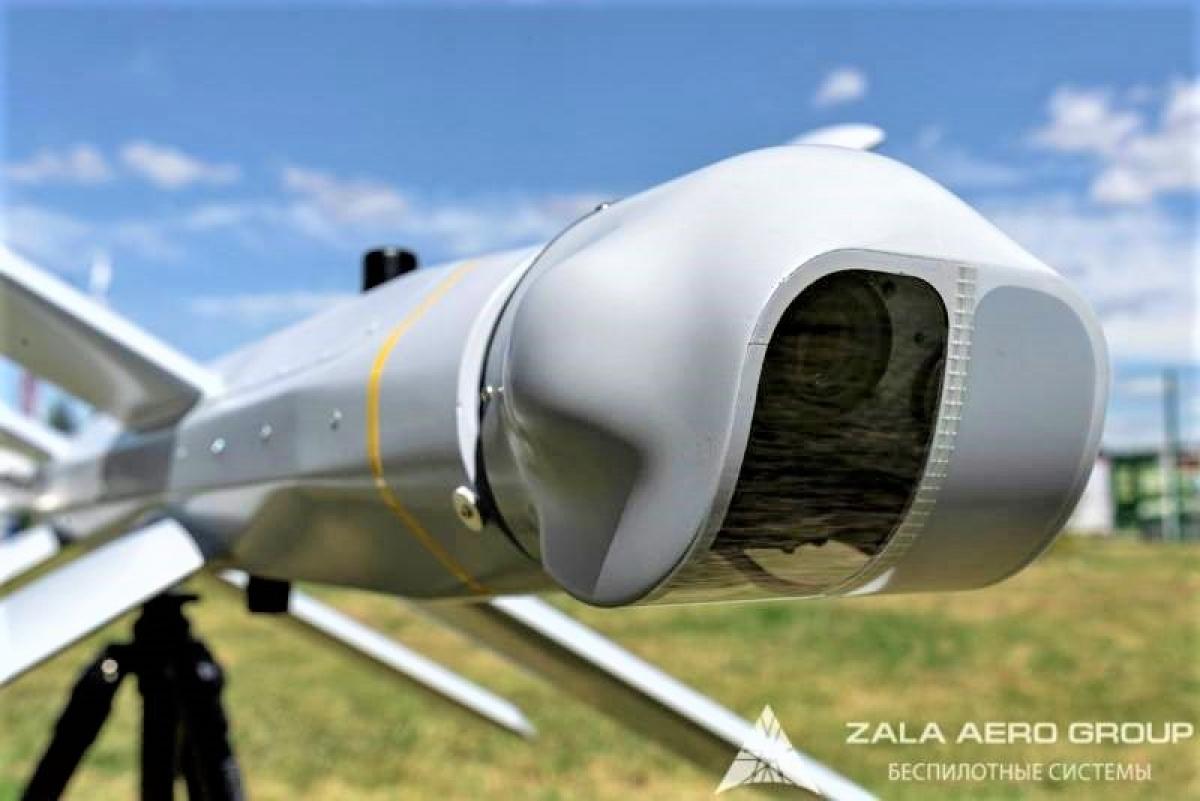 Lancet được trang bị một động cơ điện nối với cánh quạt đẩy ở đuôi và bộ phận quang điện tử ở mũi; Nguồn: topwar.ru