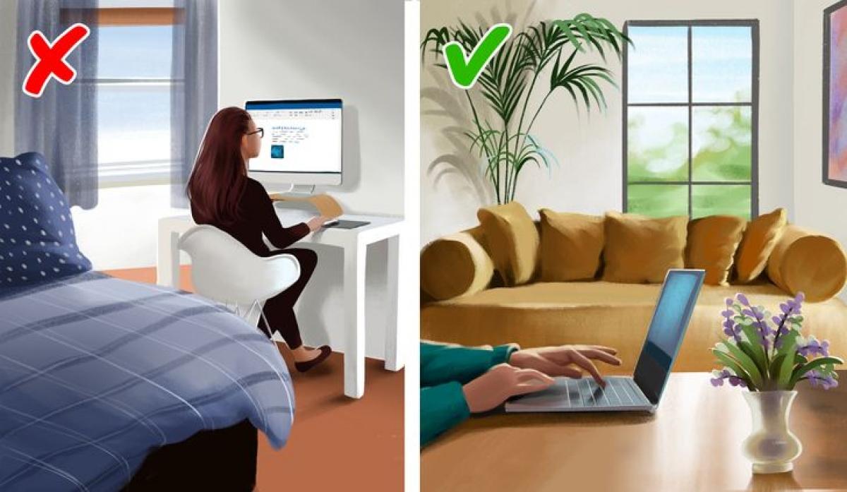 Ghế làm việc: Phòng ngủ chỉ là nơi để ngủ và thư giãn, hoàn toàn không phải để làm việc. Để bàn ghế làm việc trong phòng ngủ khiến bạn có cảm giác lo âu khi công việc vẫn chưa hoàn thành xong, do đó ảnh hưởng đến chất lượng giấc ngủ.