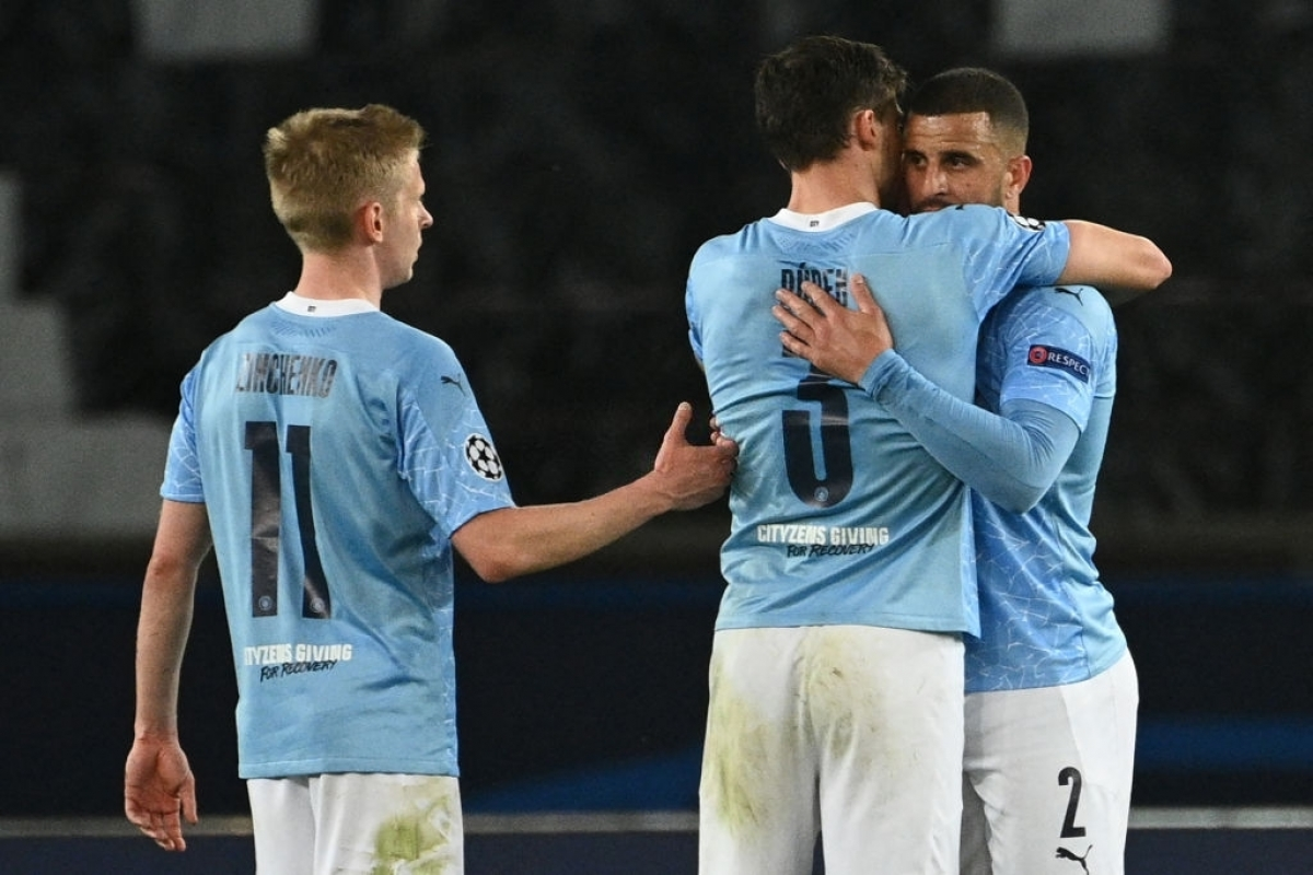 Man City đối đầu với Crystal Palace (Ảnh: Getty).