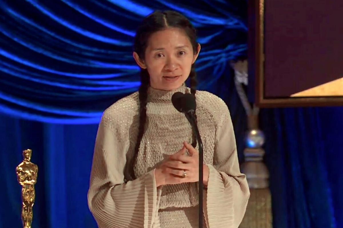 Nữ đạo diễnChloé Zhao. Ảnh: ABC.