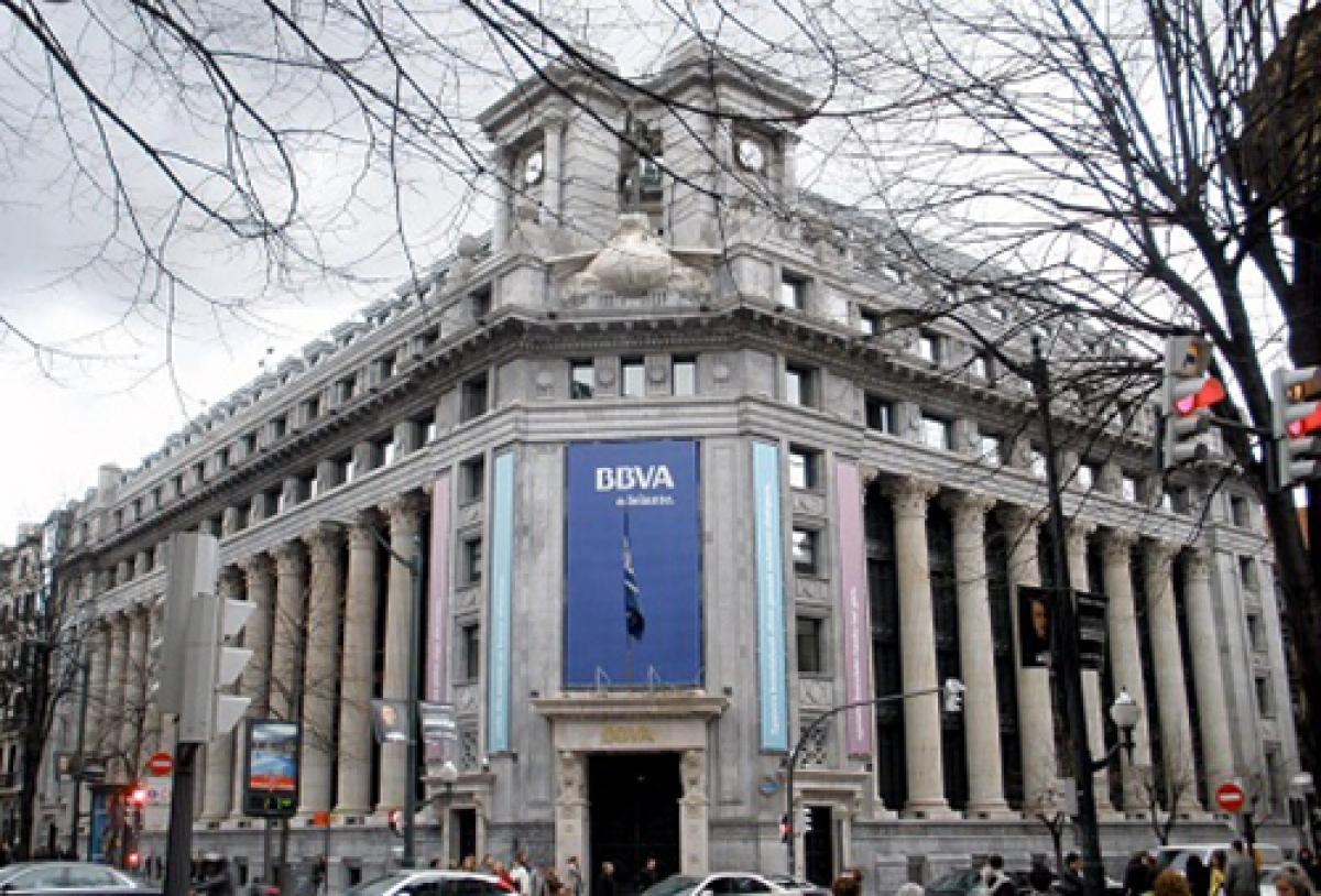 BBVA là nhà băng lớn thứ 2 ở Tây Ban Nha. ( Ảnh: KT)