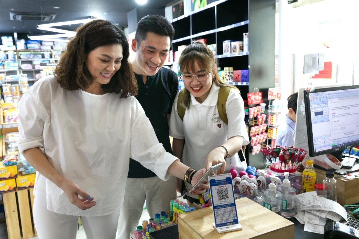 Hình thức thanh toán VNPAY-QR tiện lợi, an toàn được nhiều khách hàng sử dụng.