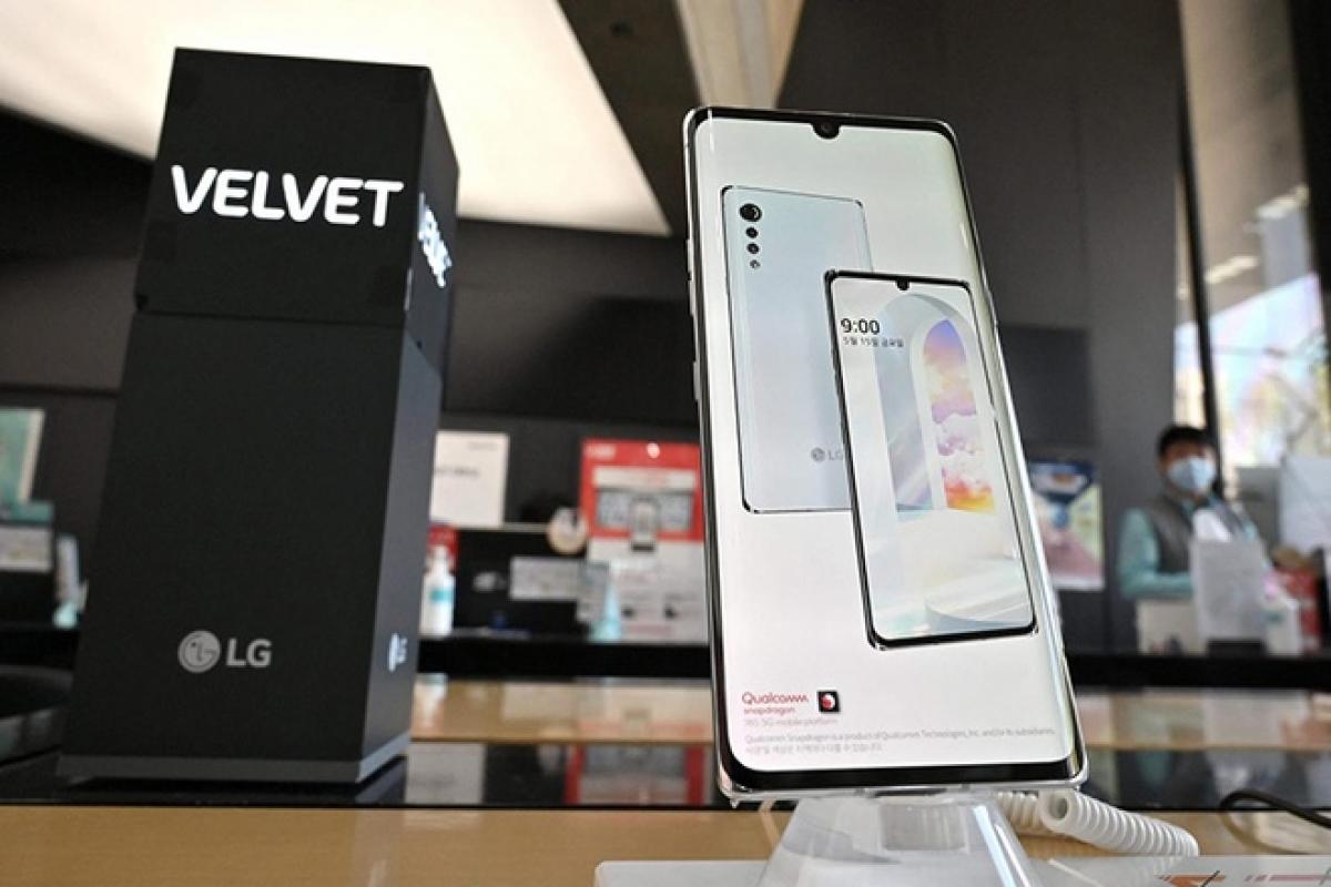 Samsung sẽ hưởng lợi lớn từ việc LG rút khỏi thị trường smartphone - (Ảnh: AFP)