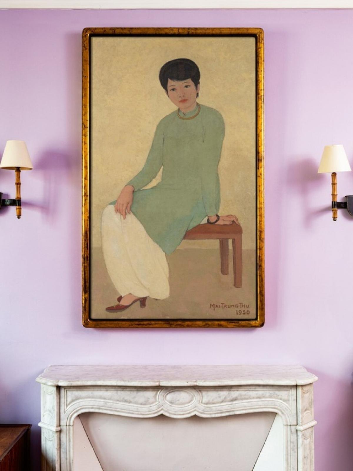 Bức tranh được bán khởi điểm với giá 500 nghìn USD, sau đó nâng dần lên 1,9 triệu USD, 2 triệu USD, 2,1 triệu USD, 2,5 triệu USD và dừng ở mức 2,573 triệu USD. Sau khi tính thuế phí, bức tranh đạt 3,1 triệu USD, trở thành là bức tranh Việt có mức giá ước chừng cao nhất từ trước đến nay.