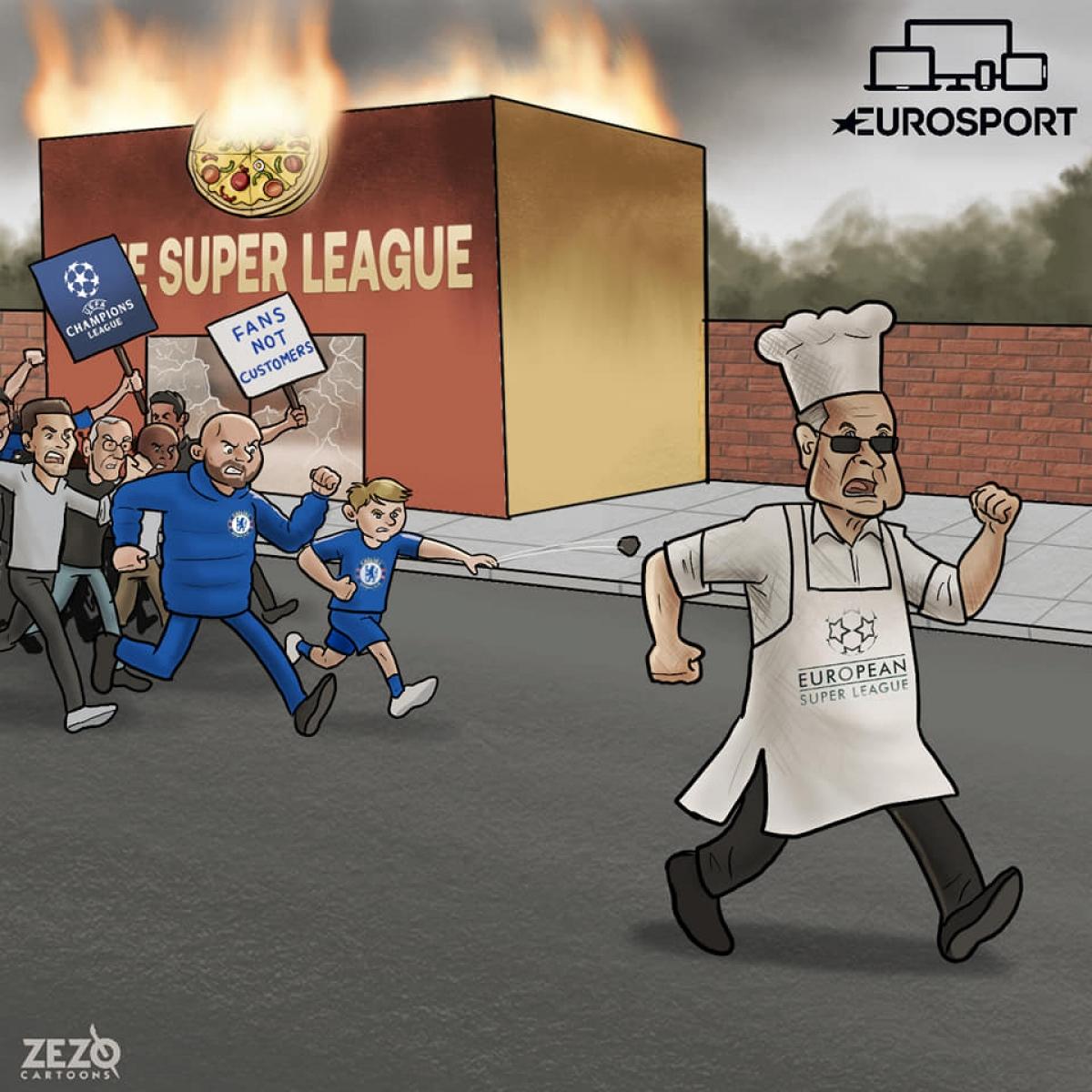 Tuy nhiên, dự án này bị cổ động viên các đội bóng và UEFA phản đối kịch liệt.