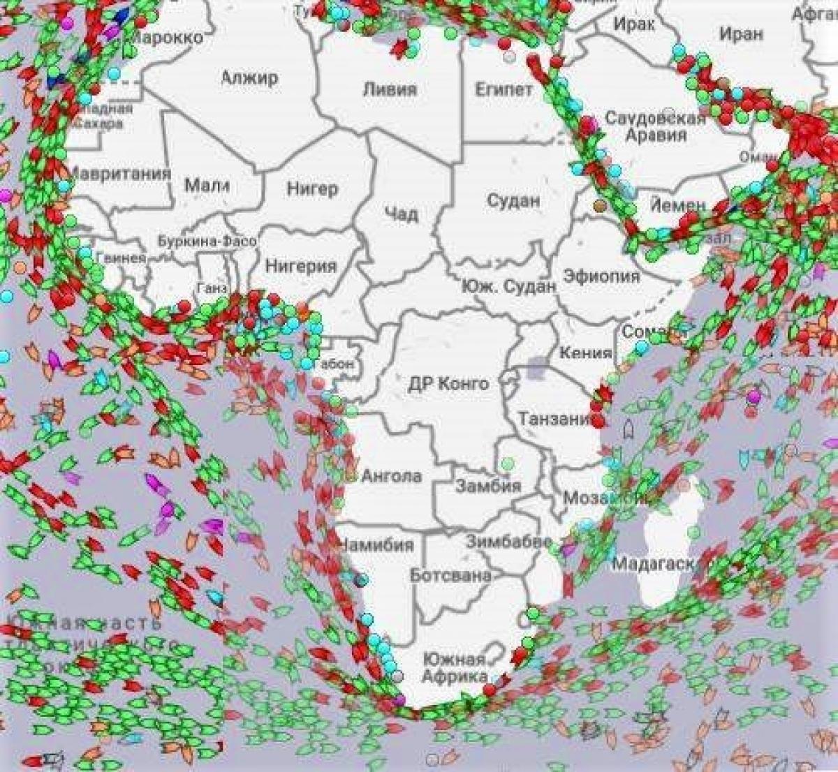 Nếu đi vòng quanh châu Phi từ phía nam phải đi thêm hơn 9.600km và mất 10 ngày; Nguồn: naukatehnika.com