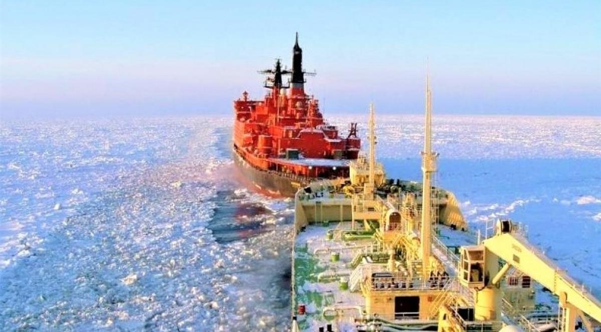 Tuy gặp một số thách thức và chưa sẵn sàng, Tuyến đường biển phía Bắc của Nga được coi có nhiều hứa hẹn; Nguồn: naukatehnika.com