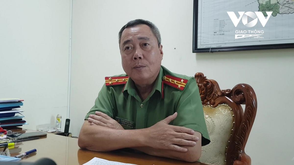 Đại tá Phạm Hoàng Thảo, Trưởng công an huyện Bình Chánh