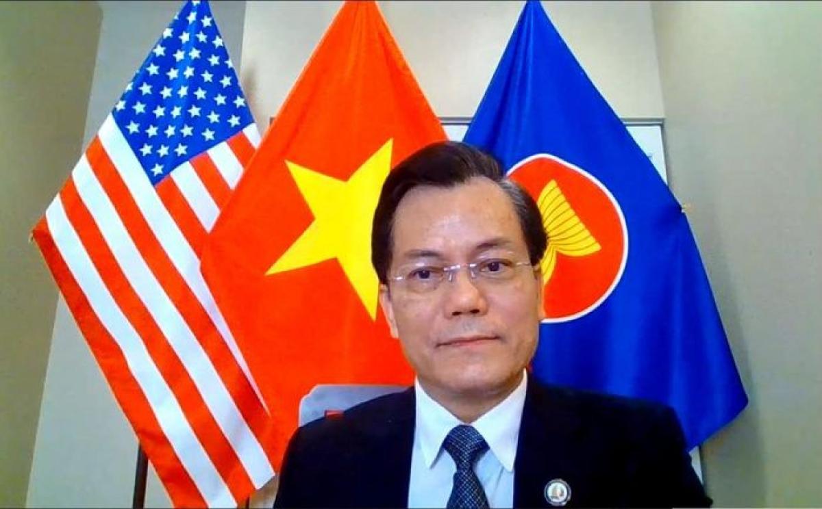 Đại sứ Việt Nam tại Mỹ Hà Kim Ngọc.