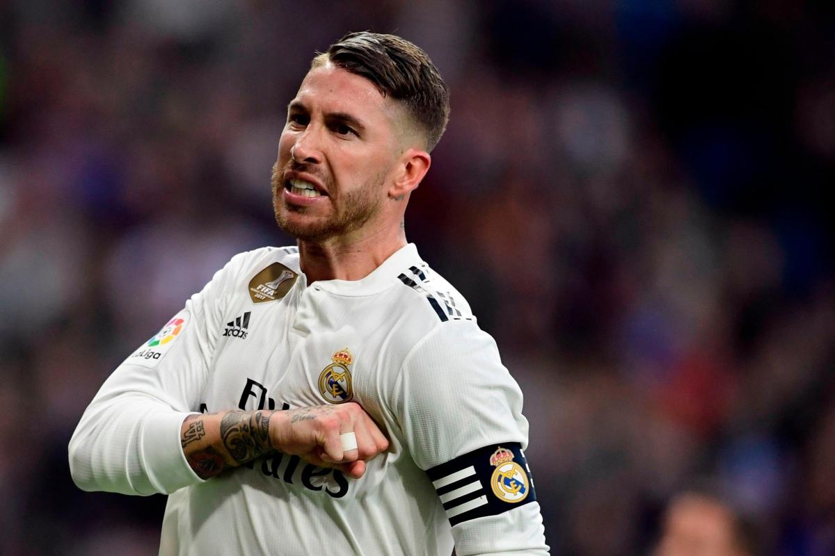 Hậu vệ: Sergio Ramos (Real Madrid)