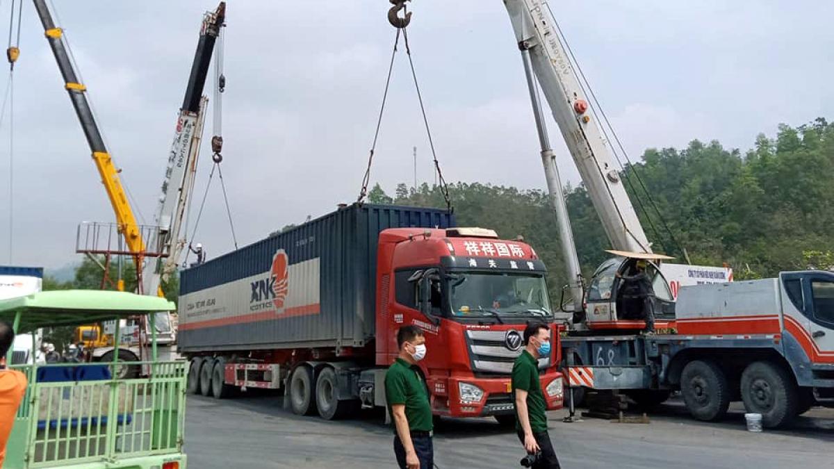 Đến năm 2025, tỷ trọng đóng góp của dịch vụ logistics vào GDP đạt 5%-6%. (Ảnh minh họa: KT)