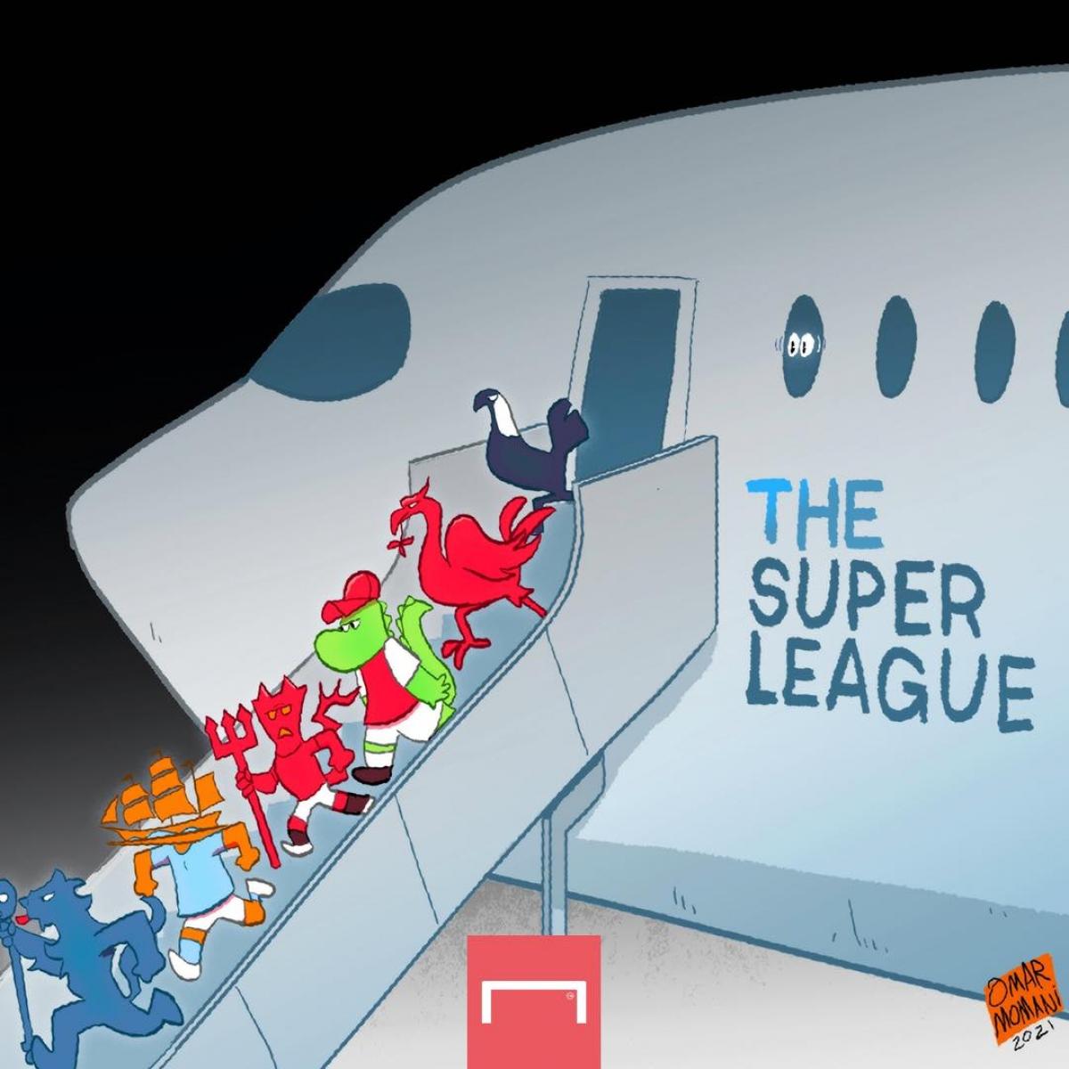 6 ông lớn của bóng đá Anh cùng Atletico Madrid, Inter Milan, AC Milan rút lui khỏi giải đấu này.