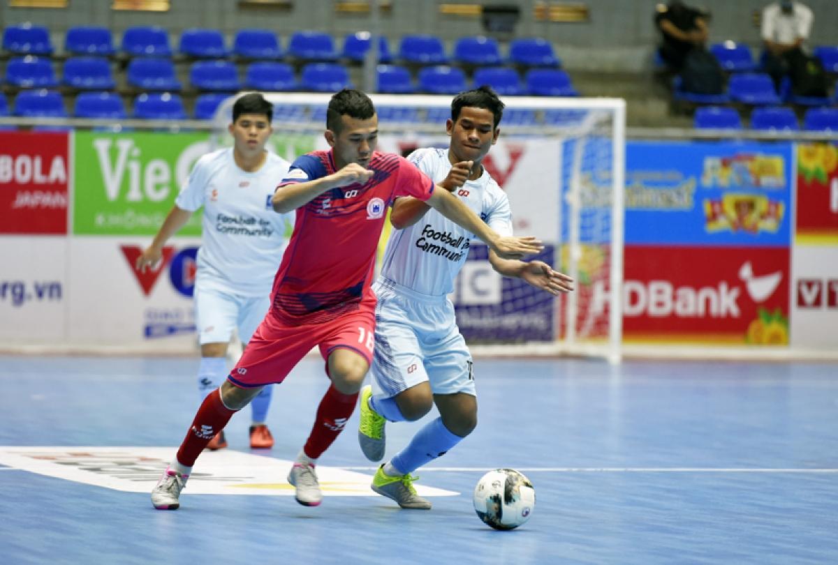 Dù rất nỗ lực nhưng VietFootball vẫn phải chia tay giải Futsal HDBank VĐQG 2021 mà không có điểm số nào tại vòng loại.